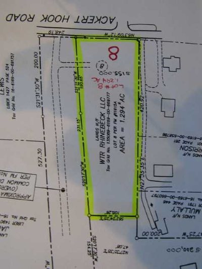Rhinebeck Residential Lots & Land For Sale: Ackert Hook Road Lot