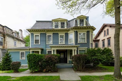 Poughkeepsie City Multi Family Home For Sale: 114 Academy St