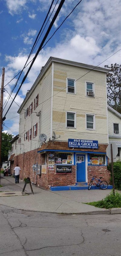 Poughkeepsie City Multi Family Home For Sale: 32 Harrison St