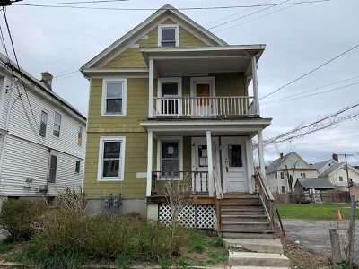 Poughkeepsie City Multi Family Home For Sale: 25 Lent St