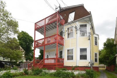 Poughkeepsie City Multi Family Home For Sale: 21 Corlies Ave