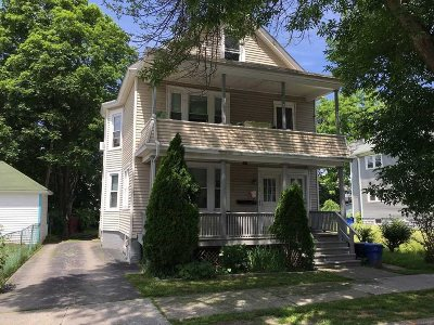 Poughkeepsie City Multi Family Home For Sale: 24 Hoffman Ave