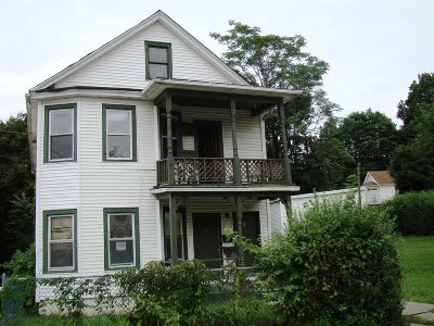 Poughkeepsie City Multi Family Home For Sale: 3 Foster St
