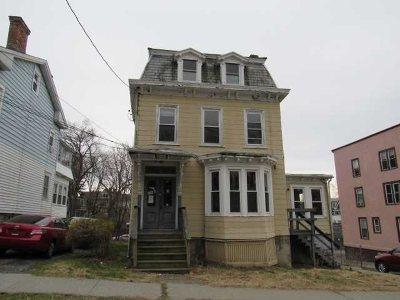 Poughkeepsie City Multi Family Home For Sale: 144 Franklin St