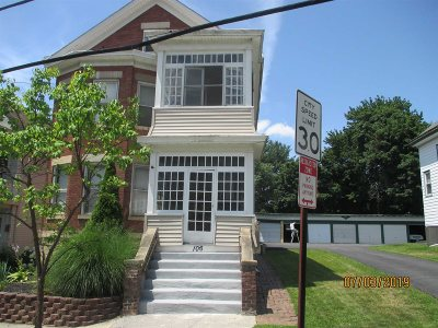 Poughkeepsie City Multi Family Home For Sale: 106 South
