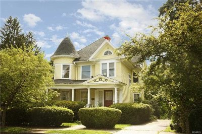 Poughkeepsie City Single Family Home For Sale: 71 Hooker Ave