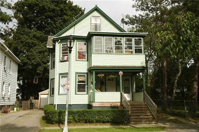 Poughkeepsie City Multi Family Home For Sale: 11 Manitou Ave