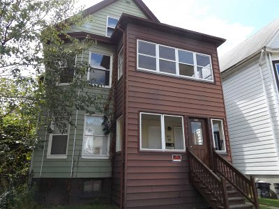 Poughkeepsie City Multi Family Home For Sale: 362 Church St