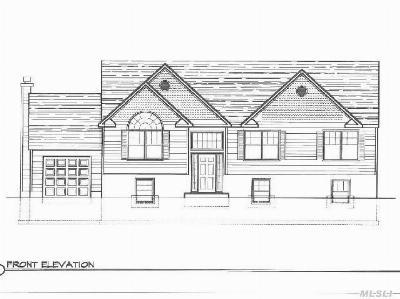 Farmingville Single Family Home For Sale: Lot 1 Hickory Ave