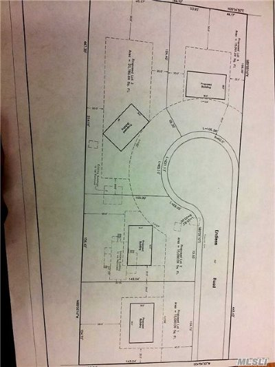 Centereach Residential Lots & Land For Sale: Wood.. Rd