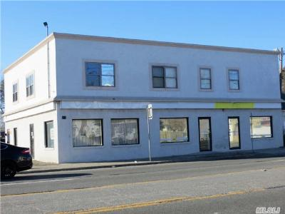 Patchogue Commercial For Sale: 188 Medford Ave