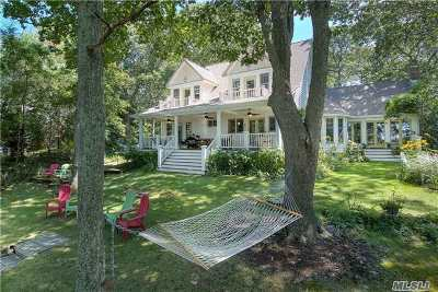 Cutchogue Single Family Home For Sale: 350 Aborn Ln