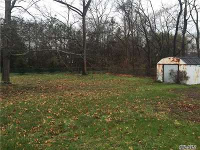 Smithtown Residential Lots & Land For Sale: 65 Harvard Ave