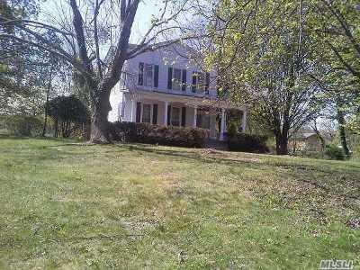 Setauket Single Family Home For Sale: 326 B Main St