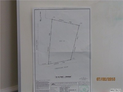 Setauket Residential Lots & Land For Sale: Parsonage Rd