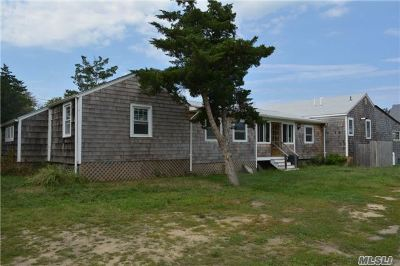East Moriches Single Family Home For Sale: 77 Moriches Island Rd