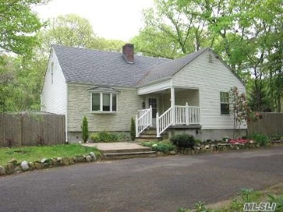 Rocky Point Single Family Home For Sale: 41 Hallock Landing Rd