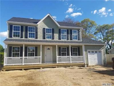 Coram Single Family Home For Sale: Lot 25 Sunset