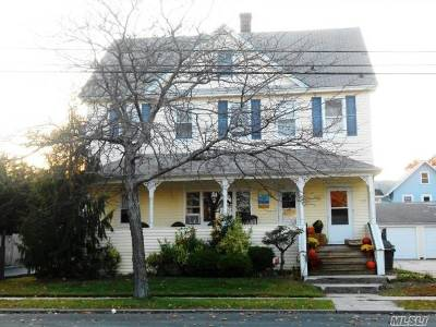 Lindenhurst Multi Family Home For Sale: 163 S Broadway