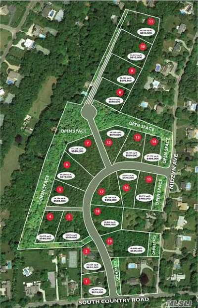 Remsenburg Residential Lots & Land For Sale: 116 #13 South Country Rd