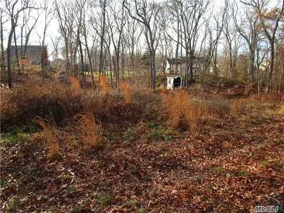 Wading River Residential Lots & Land For Sale: 121 Fire Ln