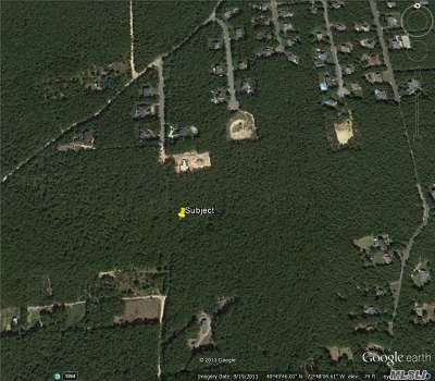Manorville Residential Lots & Land For Sale: Vacant Bay Rd