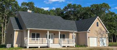 Baiting Hollow Single Family Home For Sale: New Home Old Orchard Rd