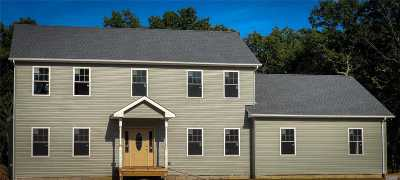 Baiting Hollow Single Family Home For Sale: N/C Old Orchard Rd