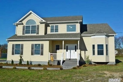 Center Moriches Single Family Home For Sale: Lot 1 Robinson St