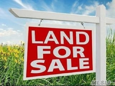 Residential Lots & Land Lots & Land: Mount Sinai Ave