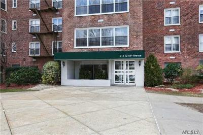 Queens County Co-op For Sale: 211-10 18th Ave #5J