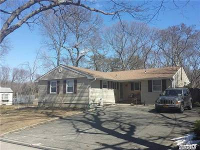 Lake Ronkonkoma Single Family Home For Sale: 363 Holbrook Rd