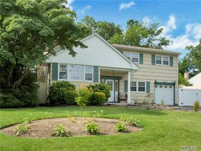 Hauppauge Single Family Home For Sale: 99 Schneider Ln