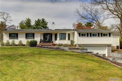 Smithtown Single Family Home For Sale: 3 Long Hill Rd