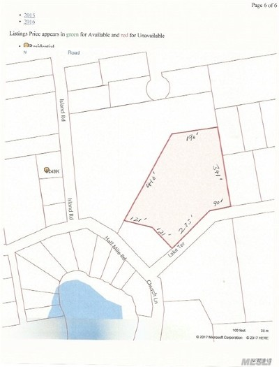 Middle Island Residential Lots & Land For Sale: Lake Ter