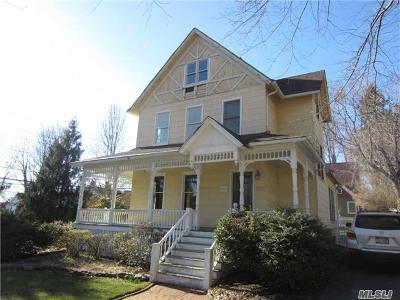 Port Jefferson Single Family Home For Sale: 401 Myrtle Ave