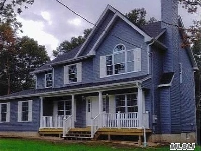 East Moriches Single Family Home For Sale: Lot 2 Private Rd