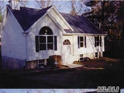 East Moriches Single Family Home For Sale: Lot 4 Private Rd