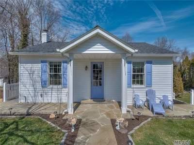 Port Jefferson Single Family Home For Sale: 15 Woodside Ave