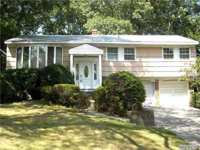 Hauppauge Single Family Home For Sale: 43 Jane Rd