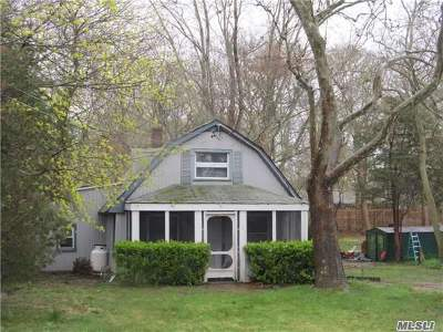 E. Quogue Single Family Home For Sale: 3 Box Tree Rd