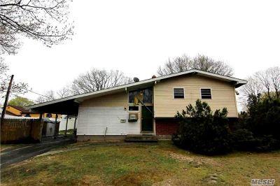Centereach Single Family Home For Sale: 146 Hawkins Rd
