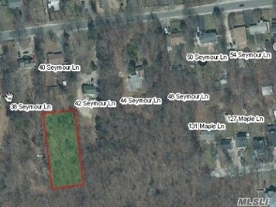 Medford Residential Lots & Land For Sale: Seymour Ln