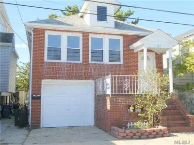 Long Beach NY Single Family Home For Sale: $499,000