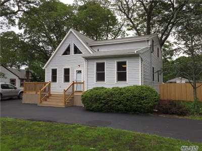 Selden Single Family Home For Sale: 141 Blue Point Rd