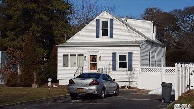 Selden Single Family Home For Sale: 123 Sunset Ave