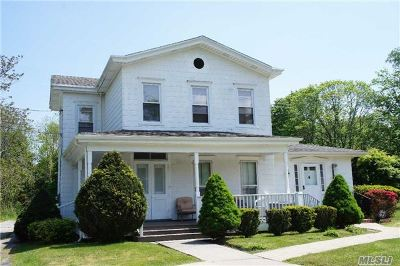 East Moriches Single Family Home For Sale: 444 Montauk Hwy