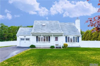 Middle Island Single Family Home For Sale: 31 Creekside Dr
