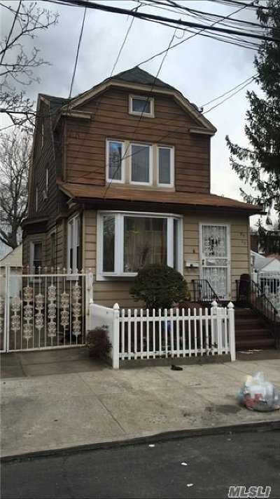 Woodhaven Single Family Home For Sale: 80-35 90th Ave