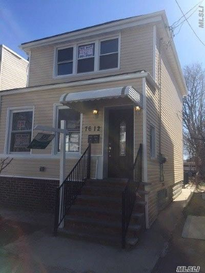 Woodhaven Multi Family Home For Sale: 76-12 88th Ave
